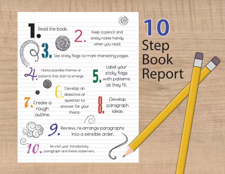 撰写读书报告的10个步骤